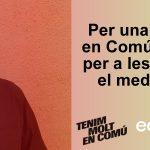 Toni Ribas: Per una Catalunya en comú, més justa per a les persones y el medi ambient #TenimMoltEnComú