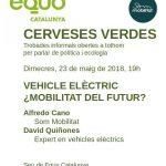 """Cervezas Verdes: """"Vehiculo eléctrico, ¿movilidad del futuro?"""""""